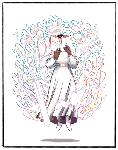 The Magic of Stories - Courtney Moore
