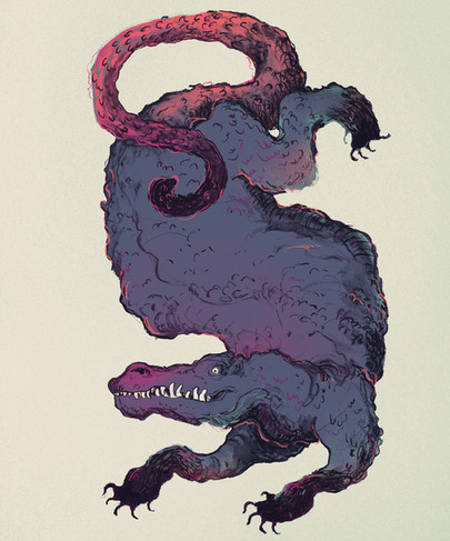 Dragon - courtney moore