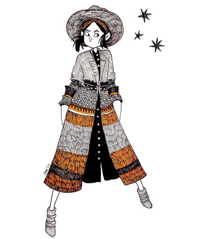 Stylish jacket - courtney moore