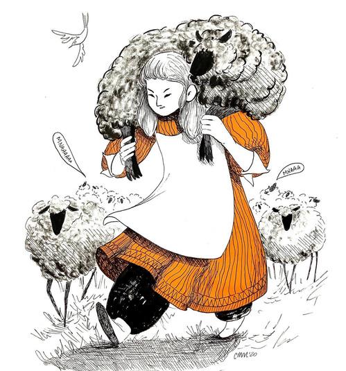 Shepherdess - courtney moore