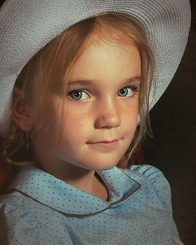 vintage little girl photography