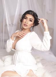 Female boudoir photography