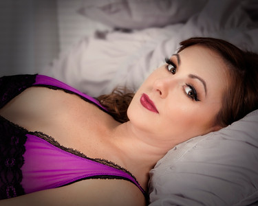 Female boudoir photography