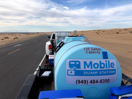 Mobile RV Dump Station - Glamis