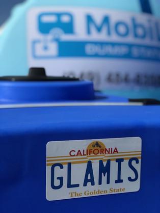 Glamis Dunes 2019 RV Mobile RV Dump Stat