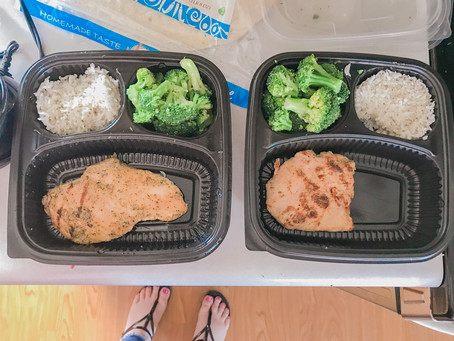 Quick and Easy Meal prep with 2 minute rice!