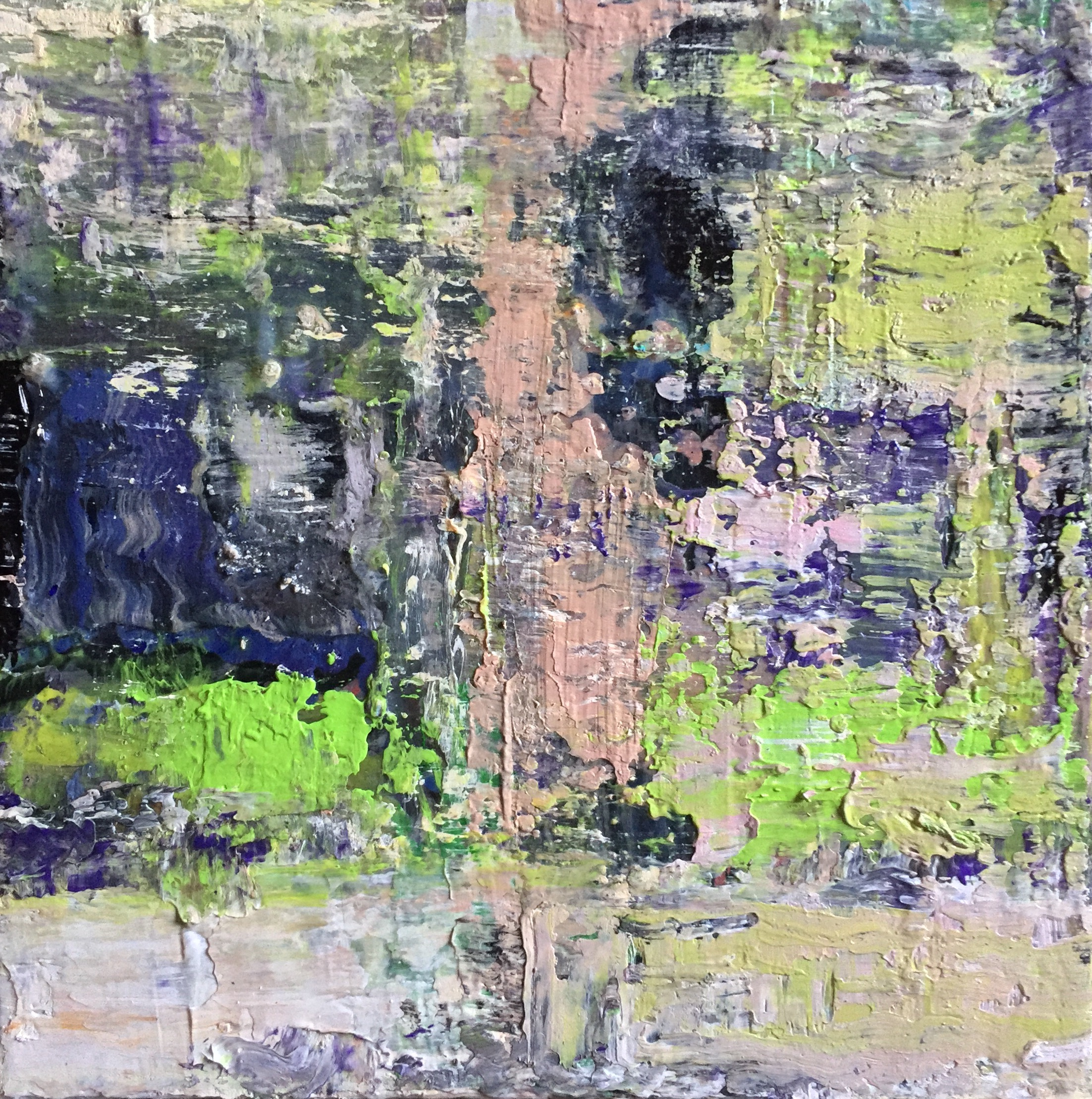 """Trees into the pond"""