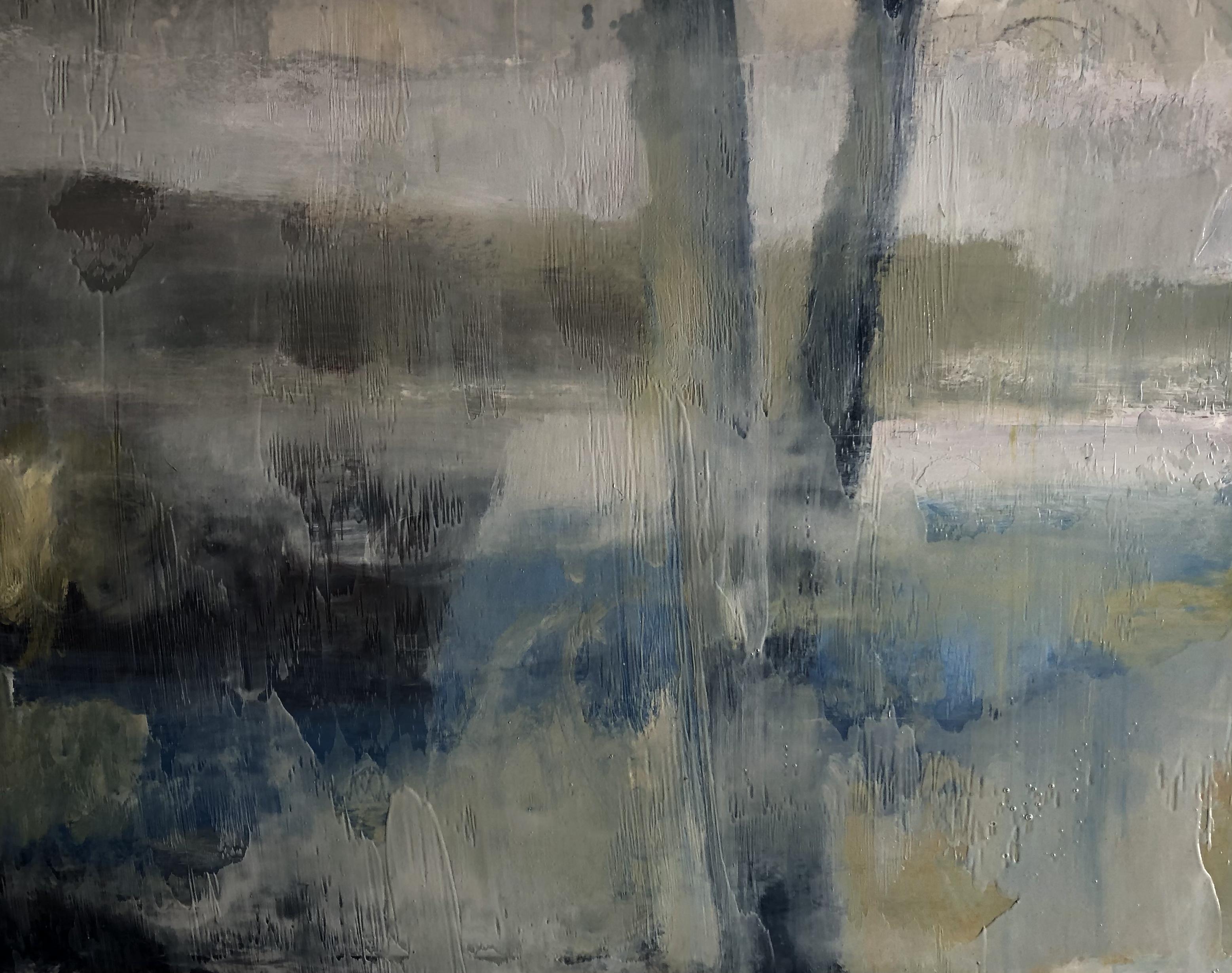 Petite étude 5. (février) 46 x 55 cm