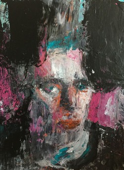 """Portrait of Blixa"""