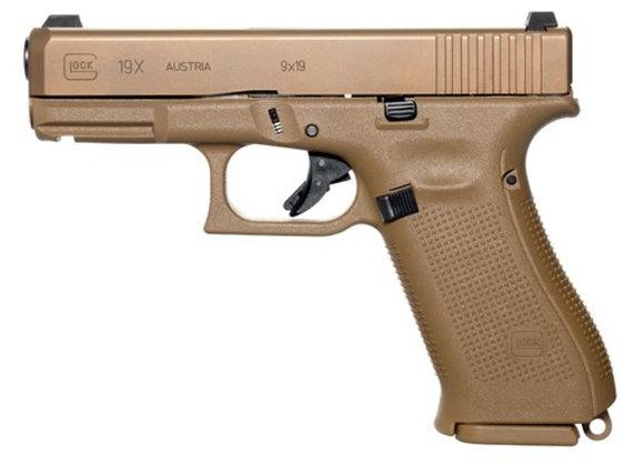 Glock 19X Gen 5 FDE