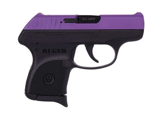 Ruger LCP 380 ACP - Purple