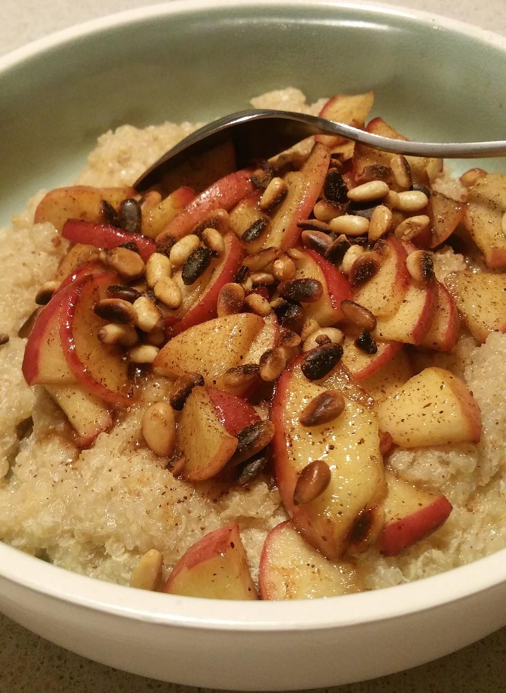 Porridge au flocons de quinoa
