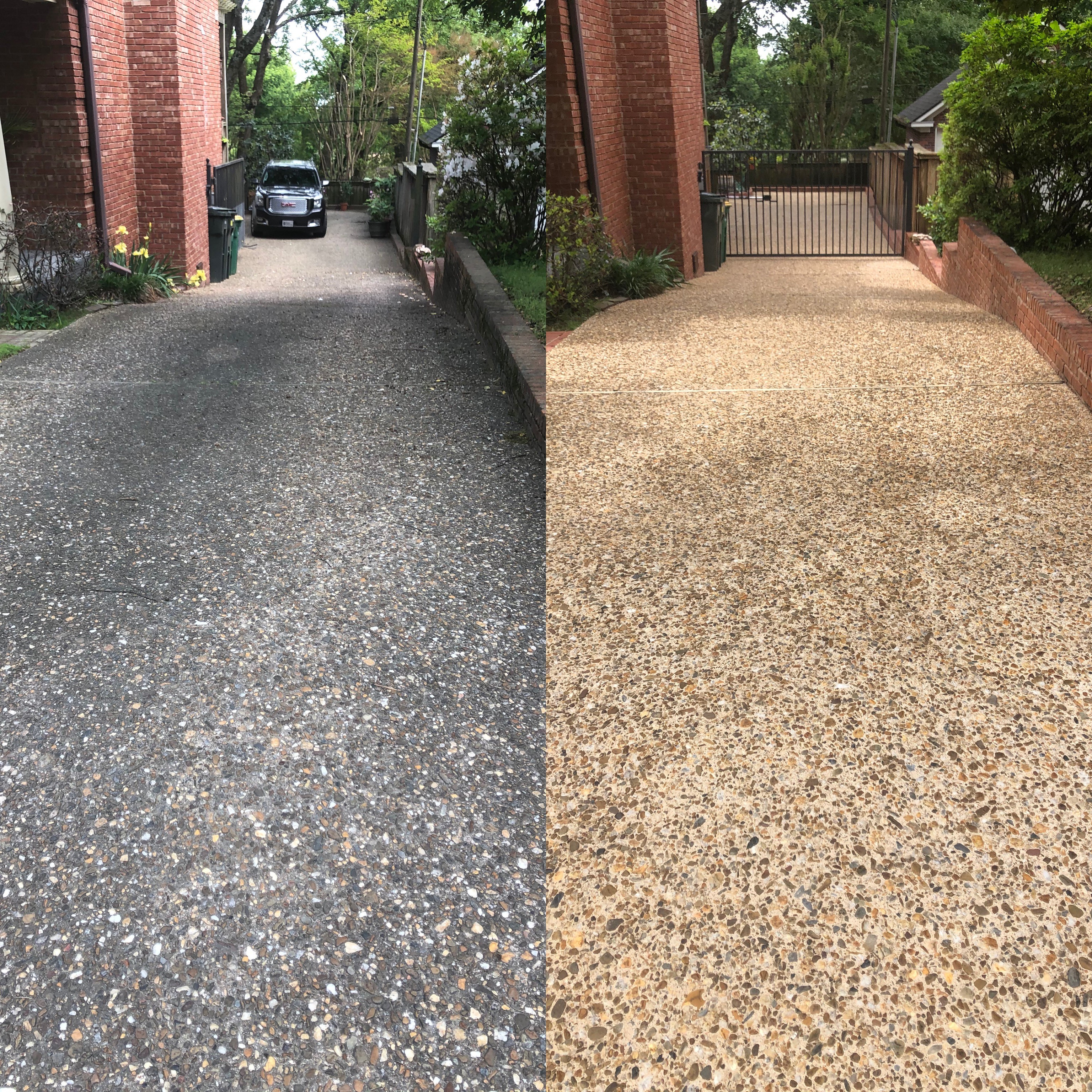 Driveway-Patio-Concrete Cleaning