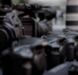 Equipamento audiovisuais, câmeras