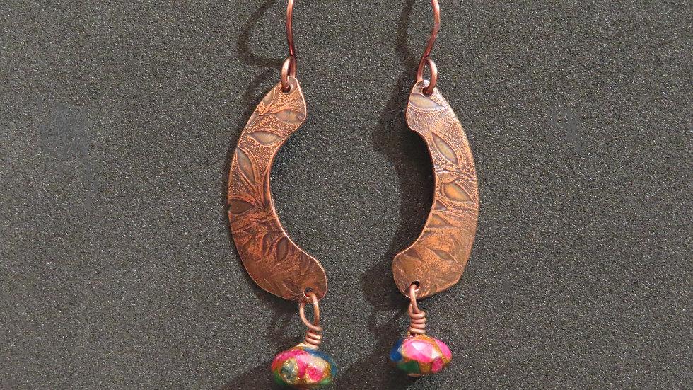 Copper Earrings #2051