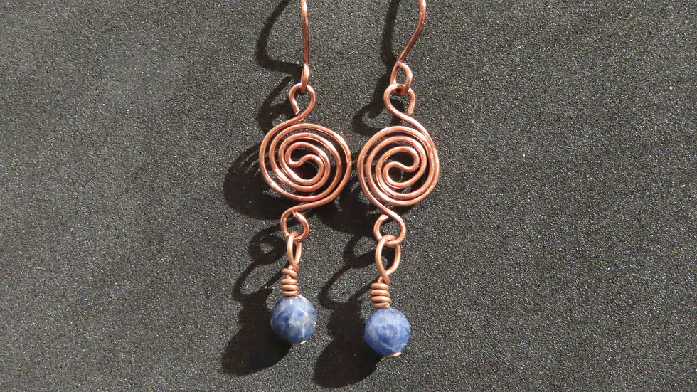 Wirework Earrings #2033