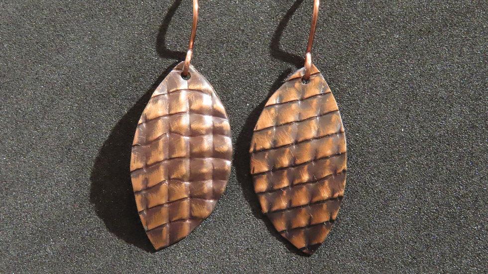 Copper Earrings #2035