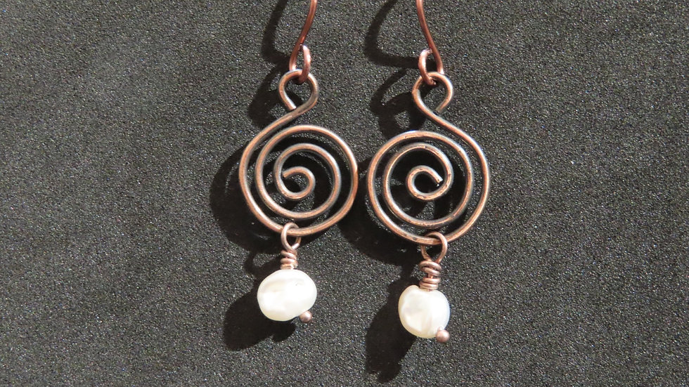 Wirework Earrings #2027