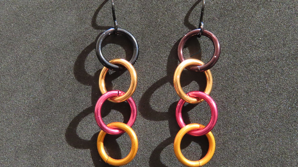 Chainmaille Earrings #2039