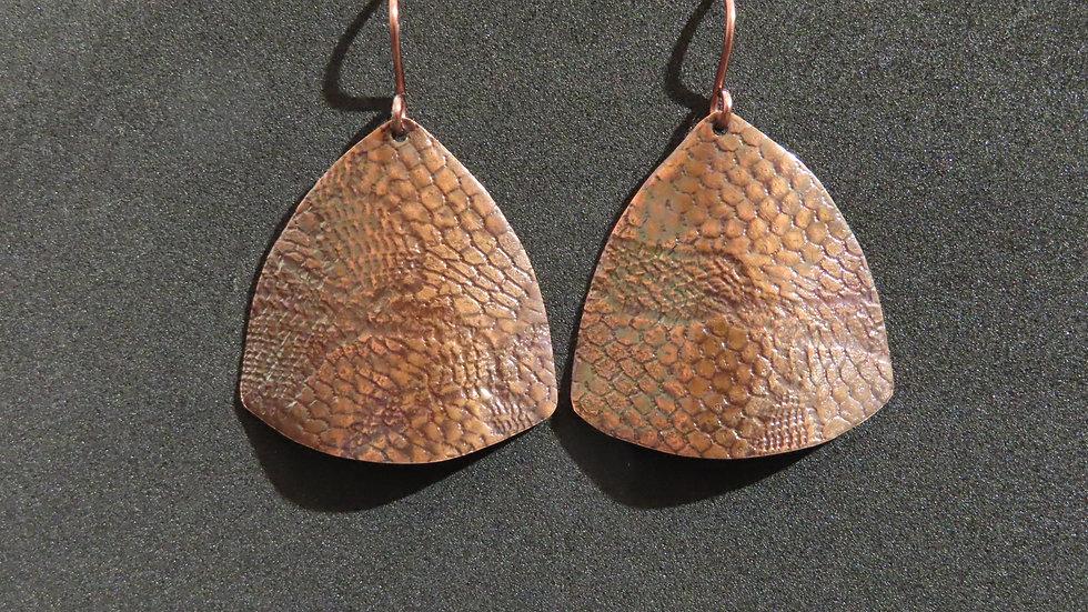 Copper Earrings #2001