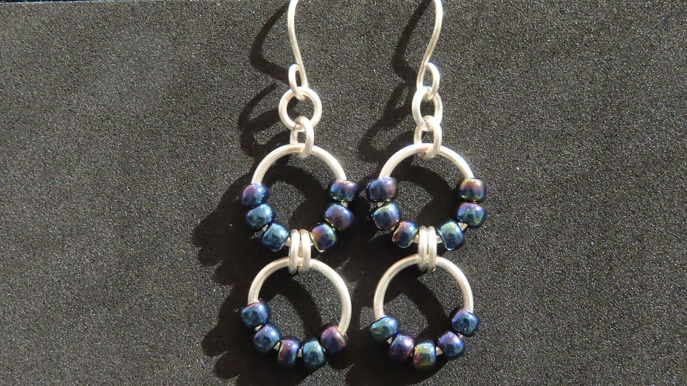 Chainmaille Earrings #2028