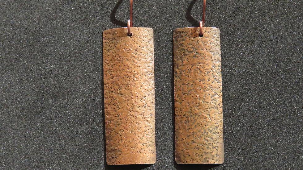 Copper Earrings #2048