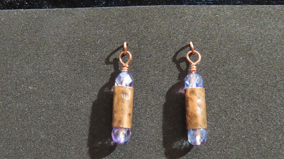 Copper Earrings #2060