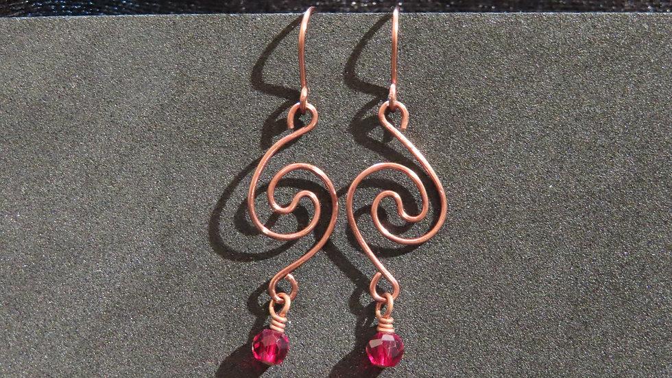 Wirework Earrings #2032