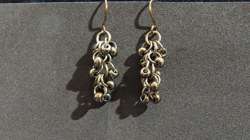 Chainmaille Earrings #2002