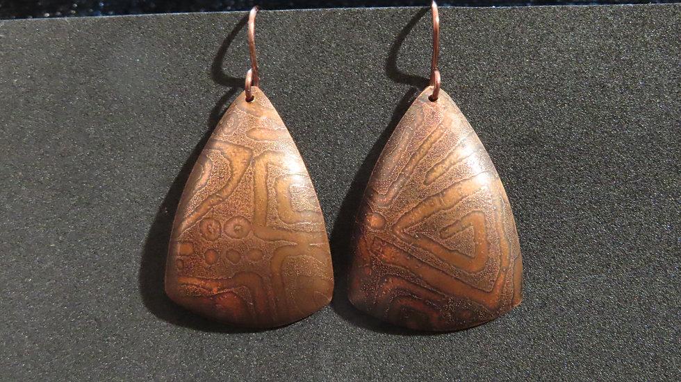 Copper Earrings #2006