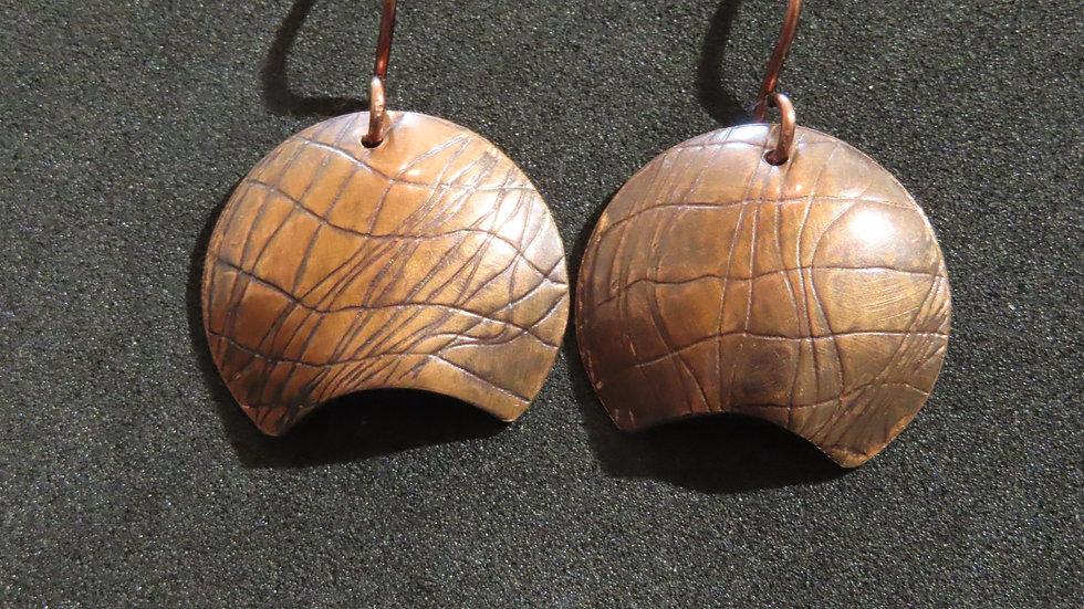 Copper Earrings #2038