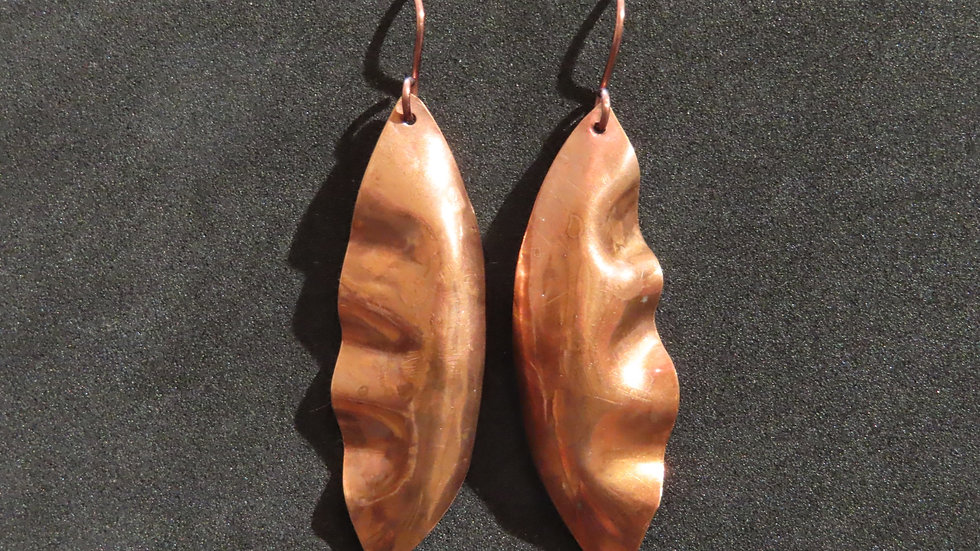 Copper Earrings #2046