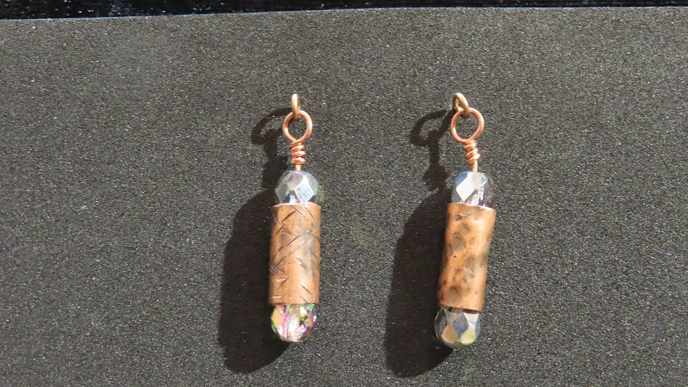 Copper Earrings #2059