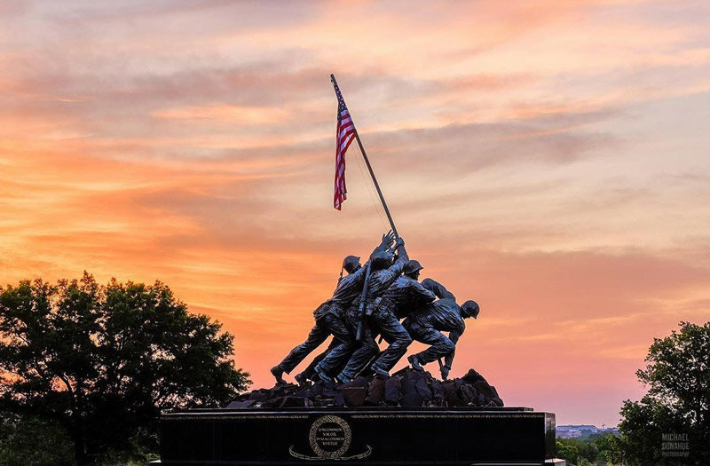 michaeldphotos-marine-corps-memorial-sun