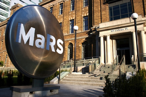Mars Discovery District, Toronto