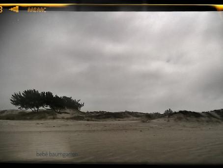 a viagem à praia do fim do mundo