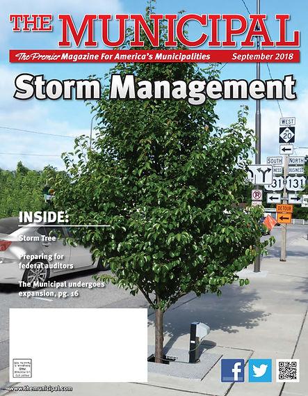 Municipal SEPT 2018 cover StormTree