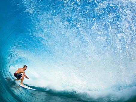 """""""Du kannst die Wellen nicht stoppen, aber Du kannst lernen zu surfen."""""""