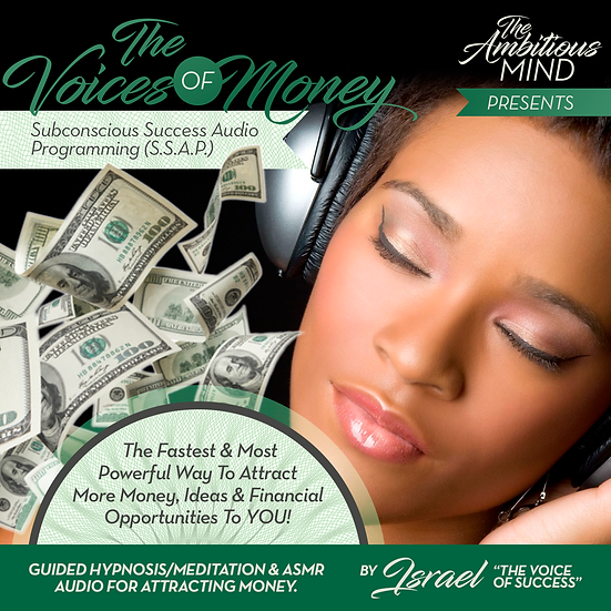 THE VOICES OF MONEY (Guided Meditation & ASMR Imagery)