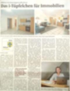 Dülmener Zeitung Duelmens erste Home Stagerin stellt sich vor Immobilienvermarktung Kreis Coesfeld Hausverkauf DGHR Christine Krueger Krüger