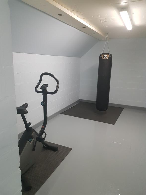 La salle de sport