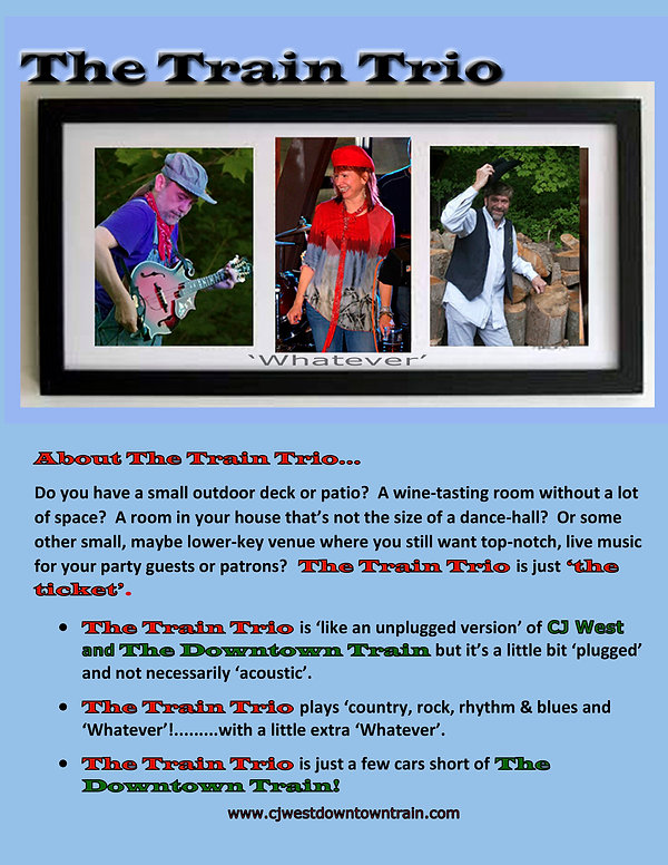 Train Trio Bio for Website - Framed Tall