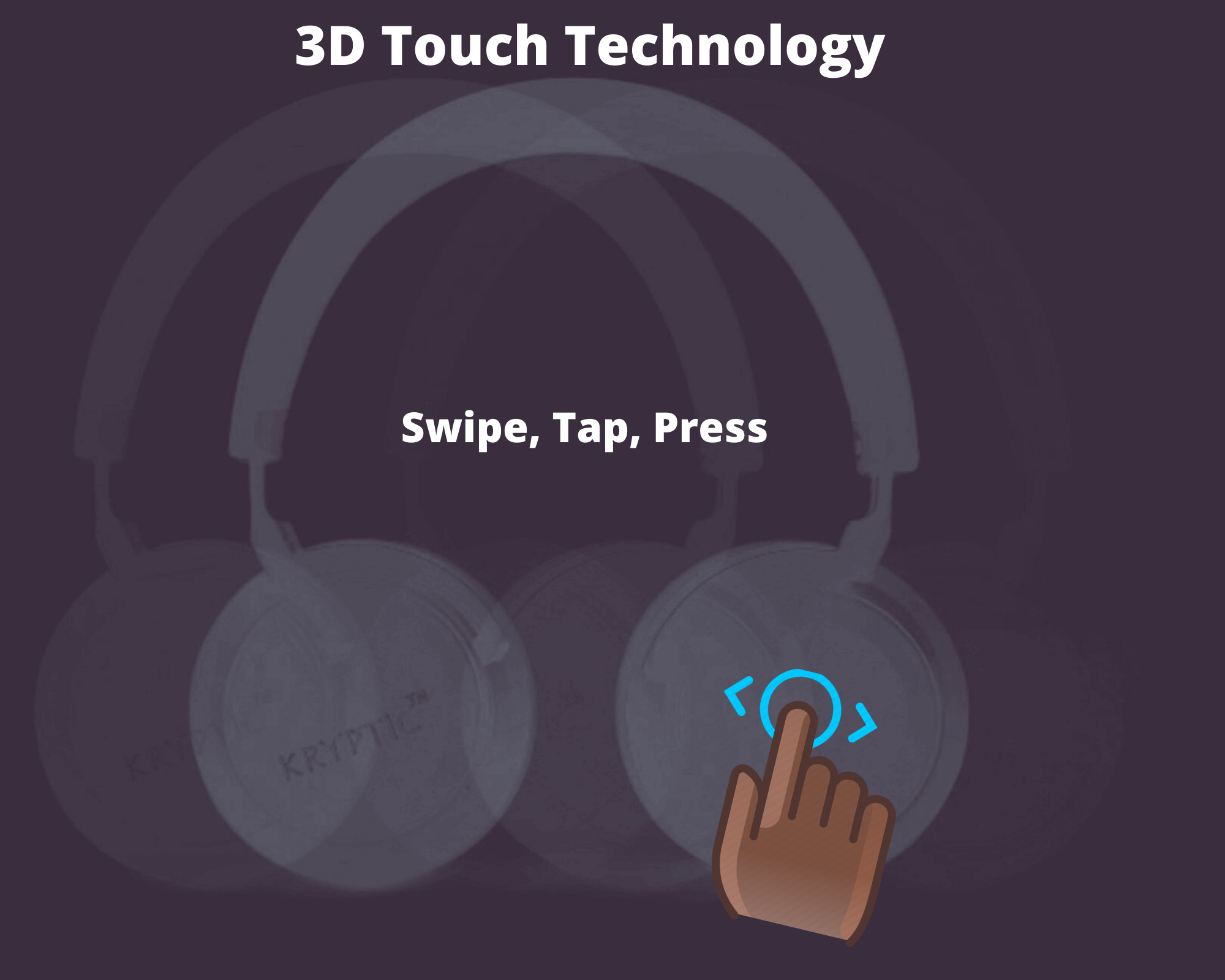 Swipe, Tap, Press
