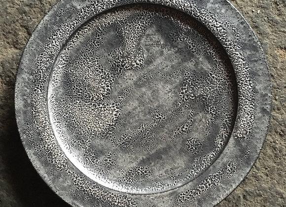 銀彩リムプレート(小)
