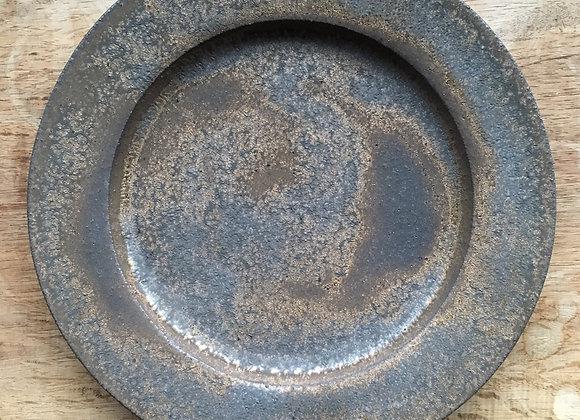 金彩リムプレート (小)  plate ( small )