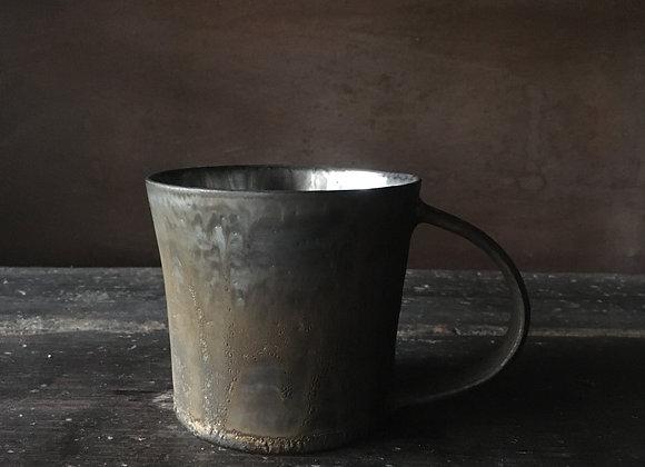 銀彩マグカップ