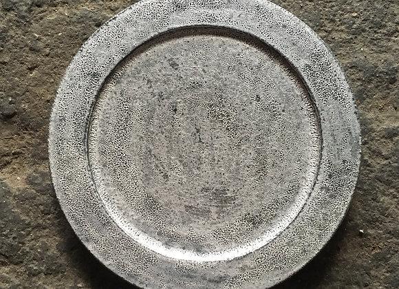 銀彩リムプレート (小)