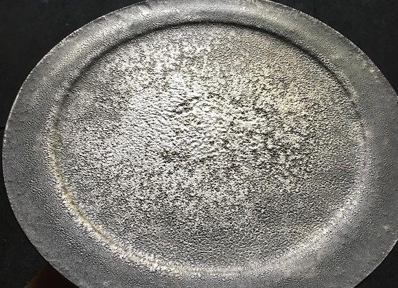 銀彩リムプレート plate
