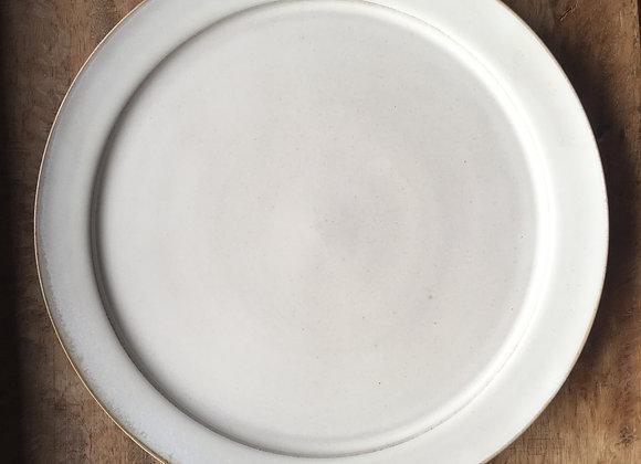 白リムプレート  plate