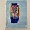 Thumbnail: WATERCOLOUR VASE - vintage original art painting